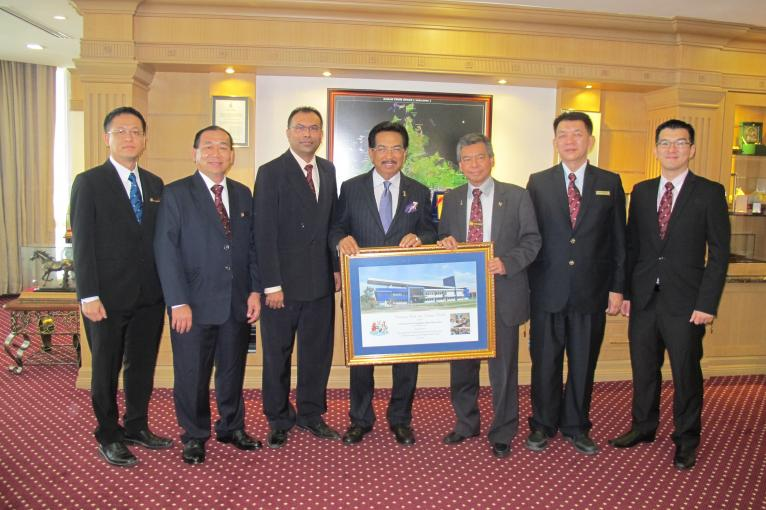 Courtesy Call to Sabah Chief Minister on Oct 12, 2015