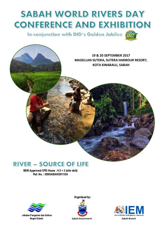 SABAH WORLD RIVERS DAY CONFERENCE & EXHIBITION